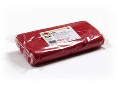 Kelmy Potahovací hmota 1 Kg - červená