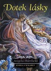 Hartfield Angela: Dotek lásky - kniha a 50 vykládacích karet