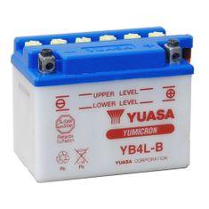 Yuasa baterie  12V 4Ah YB4L-B (dodáváno bez kyselinové náplně)