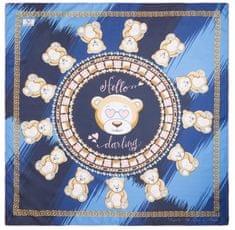 VERSACE 19.69 dámský modrý šátek Hello Darling