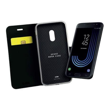 SBS preklopna torbica za Samsung Galaxy J3 2017, črna