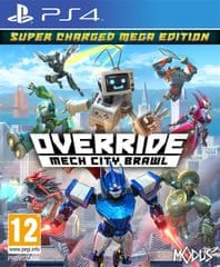 Maximum Games igra Override: Mech City Brawl - Super Charged ME (PS4) - datum izida 4.12.2018