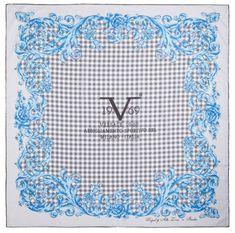 VERSACE 19.69 dámský šedý šátek Baroque