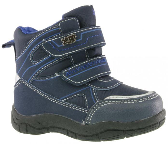V+J chlapecké kotníkové boty 26 modrá 4a341d0bed