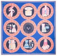 VERSACE 19.69 dámský tmavě modrý šátek Dolce Vita