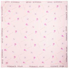 VERSACE 19.69 dámský svetlo ružový šátek Empire 1969