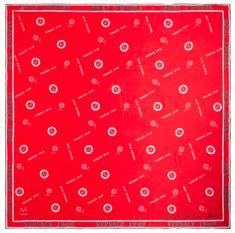 VERSACE 19.69 dámský červený šátek Empire 1969
