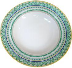 Oilily TTC talíř na těstoviny 24,5cm, 4 ks 15203