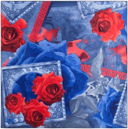 VERSACE 19.69 ženski šal modra