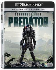 Predátor (2 disky) - Blu-ray 2D/3D + 4K ULTRA HD