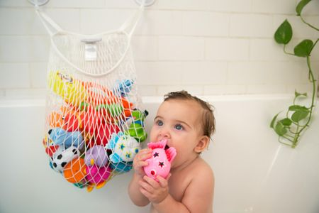 Simply Good Szervező fürdőjátékokra, Fehér