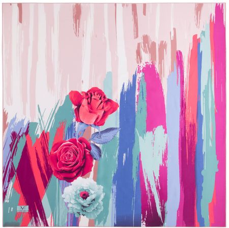 VERSACE 19.69 ženski šal, roza