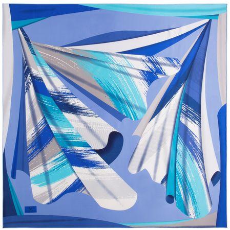 VERSACE 19.69 ženski šal, modra