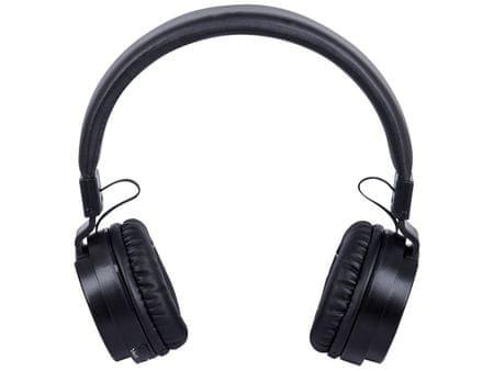 Trevi brezžične Bluetooth slušalke DJ 1230 BT + mikrofon, zložljive, črne
