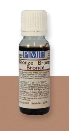 PME PME airbrush barva lesklá – bronzová