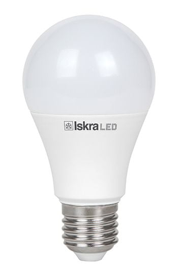 Iskra LED žarnica A60, E27, 11W, 4100K