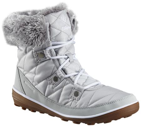 COLUMBIA női téli cipő Heavenly Shorty Camo Omni-Heat Grey Ice White 37