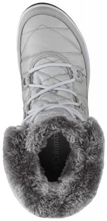 abbebba66b33 COLUMBIA Heavenly Shorty Camo Omni-Heat Grey Ice White 39