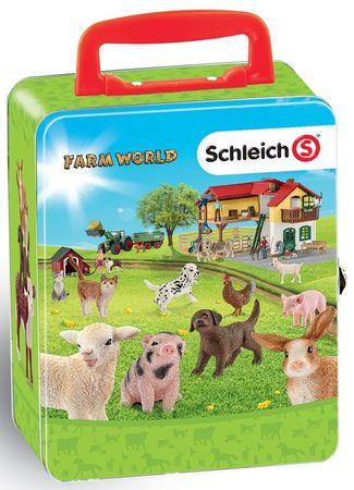 Klein Sběratelský kufřík Schleich - zvířata