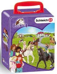 Klein Sběratelský kufřík Schleich - koně