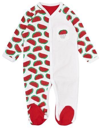 Garnamama śpioszki dziecięce z arbuzem 56 czerwone