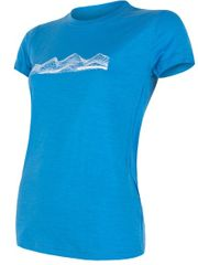 Sensor damski t-shirt Merino Active Pt Mountains