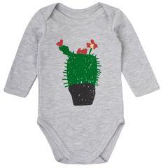 Garnamama Dětské body s kaktusem