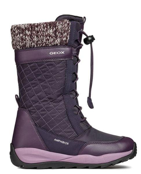 c2414fab560 Geox dívčí sněhule Orizont 29 fialová