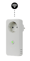 Mill Wi-Fi pametna vtičnica z vgrajenim termostatom (WIFISOCKET)