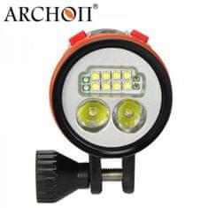 ARCHON Lampa ARCHON LED 5200 lumen, prepínanie uhla svetla VIDEO/SPOT