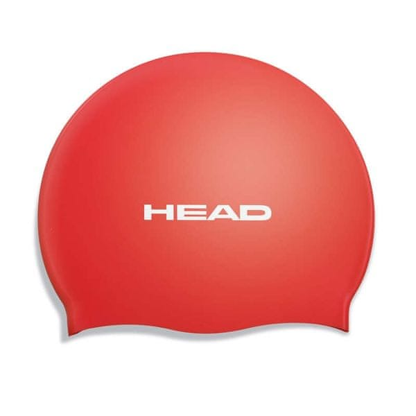 Head Čepice plavecká SILICONE FLAT, červená