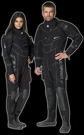 WATERPROOF Oblek D10 PRO suchý 3,5mm - Dámsky, L