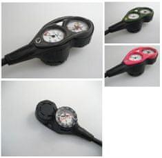 APEKS Konzola APEKS man. 360 Bar/hĺb. 70M/kompas, ružová/ flexi hadica
