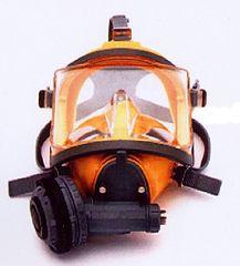 INTERSPIRO Maska celoobličejová DIVATOR MK II AGA žlutá - podtlak