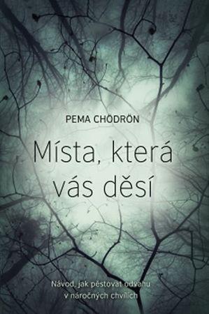 Chödrön Pema: Místa, která vás děsí - Návod, jak pěstovat odvahu v náročných chvílích