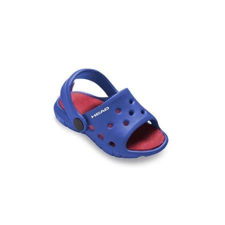 Mares Pantofle dětské SLIPPER BUBBLE, Head, modrá/červená, 25