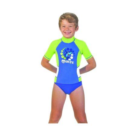Mares Tričko RASH GUARD BOY - KID s krátkým rukávem, L