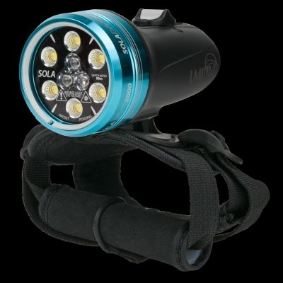 LIGHT AND MOTION Lampa SOLA DIVE 2000 SPOT/VIDEO