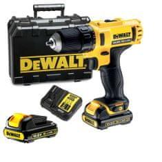 DeWalt akumulatorski vrtalnik/vijačnik 10,8V, 1,3 Ah, Lii-Ion (DCD710C2)