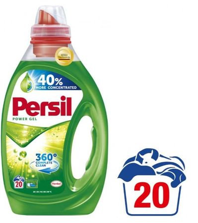 Persil pralni gel 360° Complete Clean Power Gel, 1 l, 20 pranj
