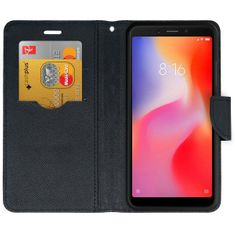 Forcell preklopna torbica za Xiaomi Redmi 6, črna