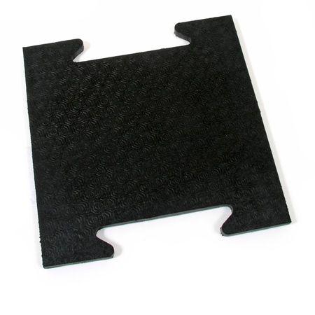FLOMAT Gumová modulární zátěžová rohož Horse Tile - 39 x 39 x 2,5 cm