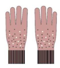 s.Oliver Dívčí rukavice s perličkami