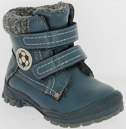 V+J fantovski zimski čevlji, 22, modra