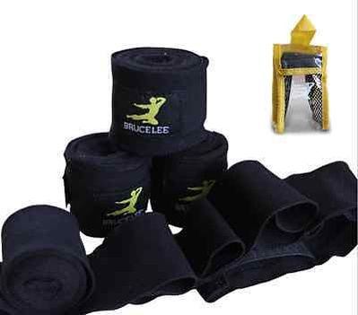 Bruce Lee bandaže, 250 cm, črne
