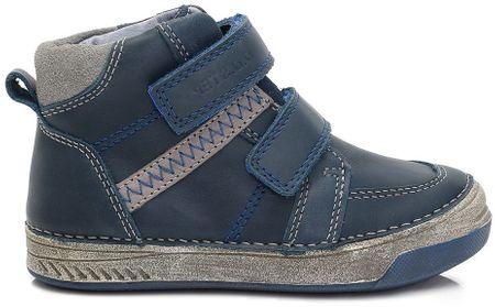 D-D-step chlapecké kotníkové boty 31 modrá  18eae5ec2b
