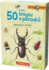 Mindok 50 druhů hmyzu a povouků