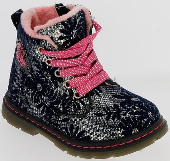 V+J dívčí zimní boty 27 modrá 6a13d800ef