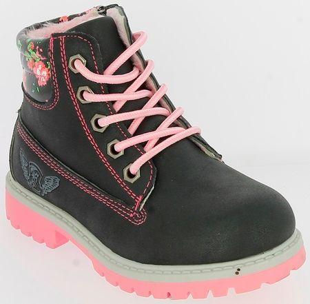 V+J dívčí zimní boty 30 černá