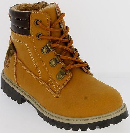 V+J fantovski zimski čevlji, 32, oker